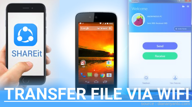 Tutorial Transfer File via Wifi di Nexian Journey One Menggunakan ShareIt Terbaru